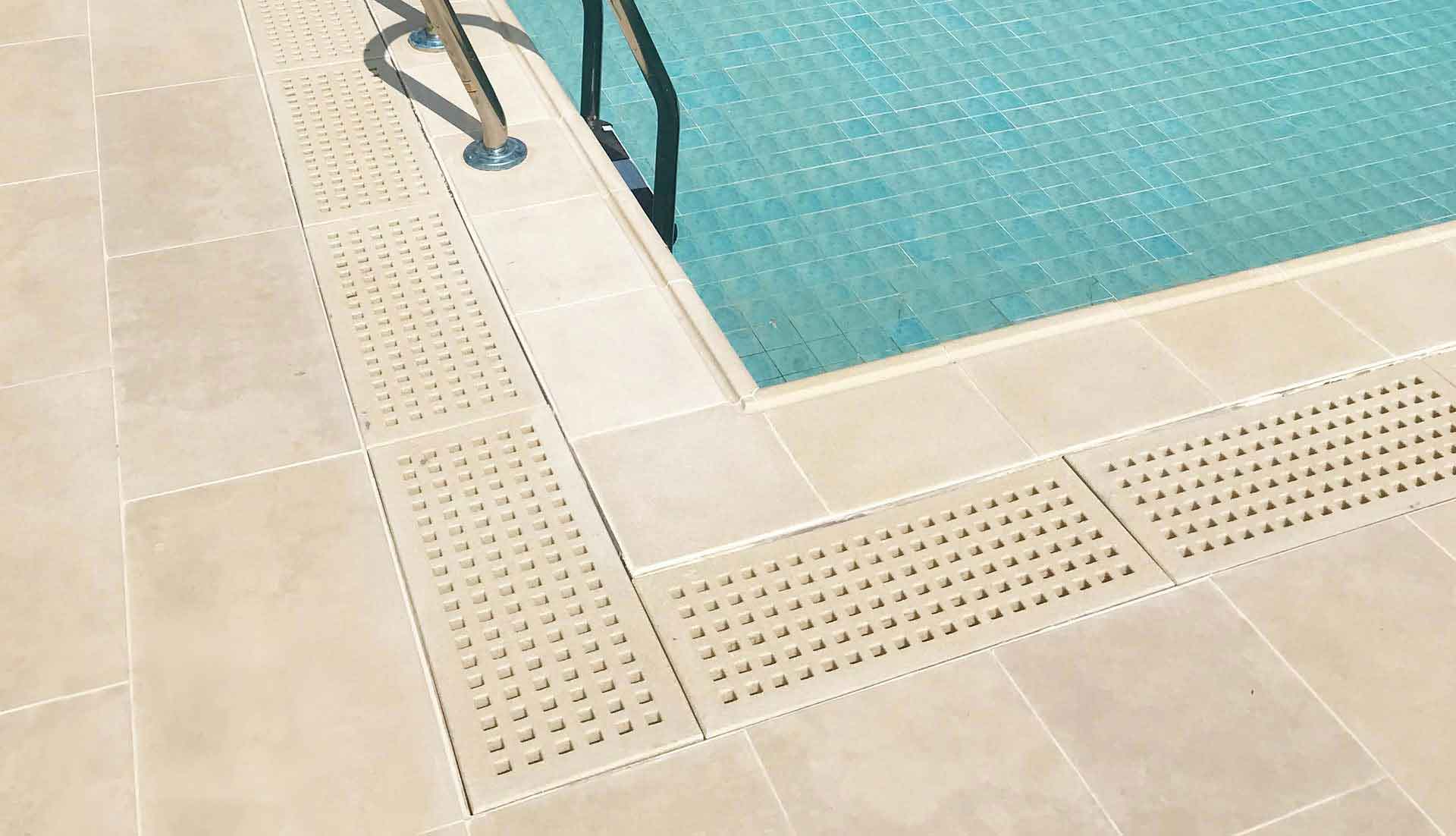 SYNTHETIC STONE POOL GRATINGS